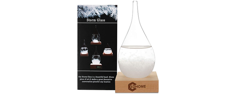 3DHOME Storm Glass