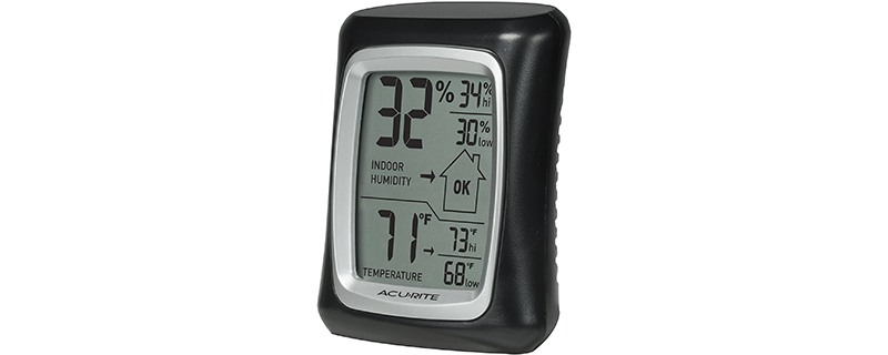 AcuRite 00325 Indoor Thermometer & Hygrometer
