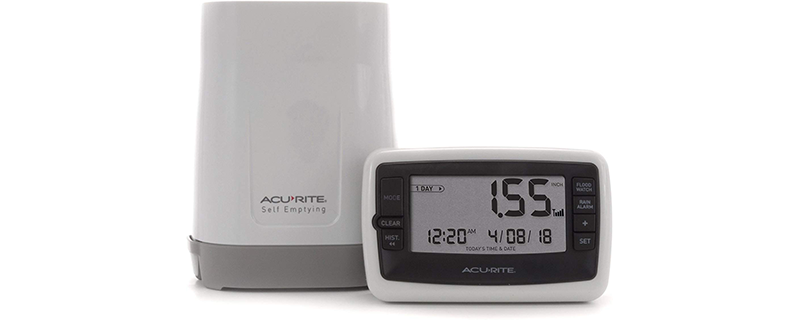 AcuRite 00899 Wireless Rain Gauge