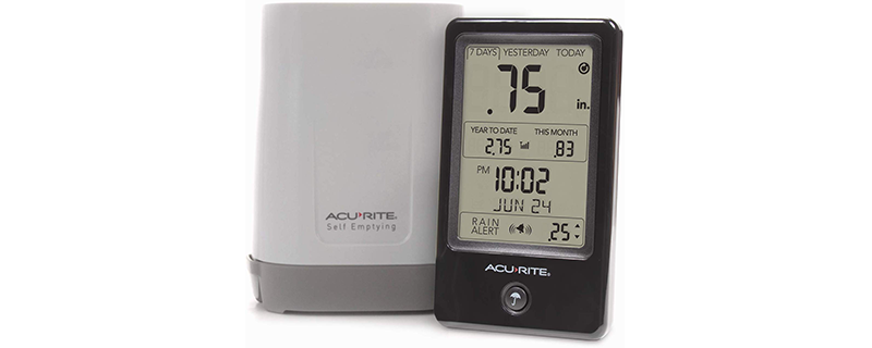 AcuRite 02446M Wireless Rain Gauge