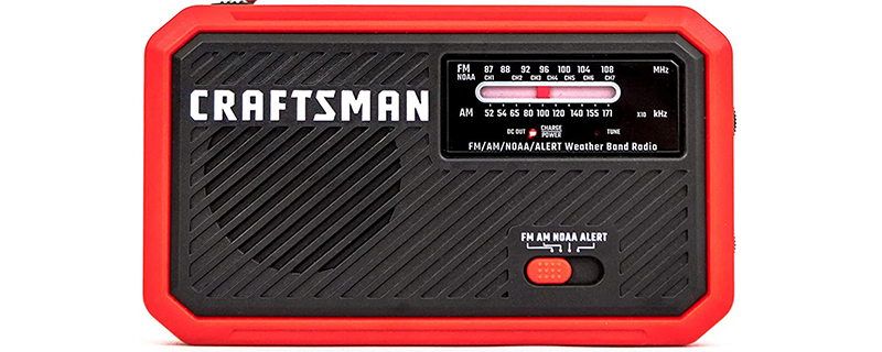 CRAFTSMAN Emergency Weather Alert Radio