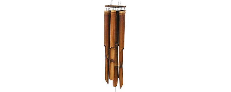 Cohasset Gifts 139 Cohasset Plain Antique Giant Bamboo Wind Chime