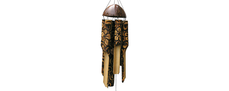 Cohasset Gifts 168 Cohasset Simple Bamboo Wind Chime