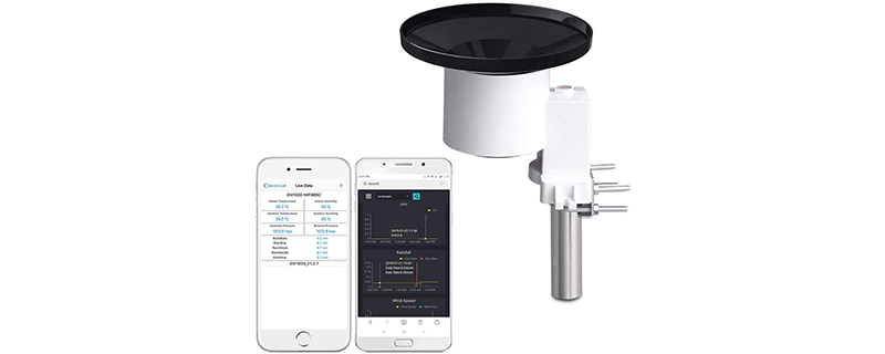 ECOWITT WH40 Wireless Self-Emptying Rain Collector