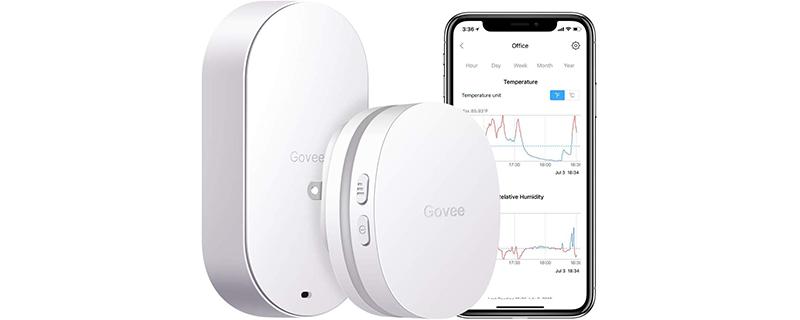 Govee WiFi Digital Indoor Outdoor Temperature Humidity Sensor