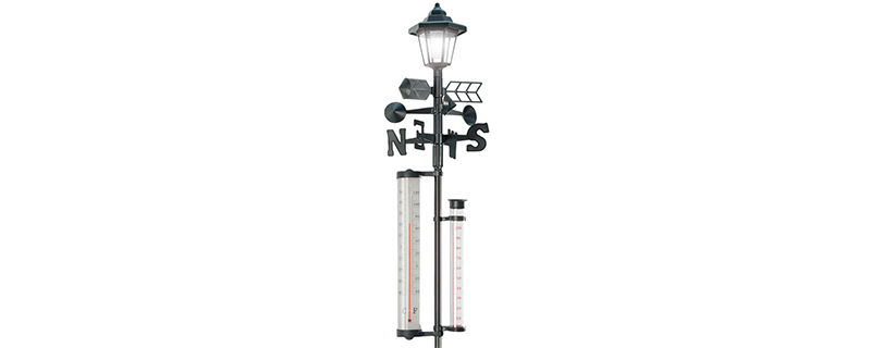 Jobar All-In-One Solar Weather Station