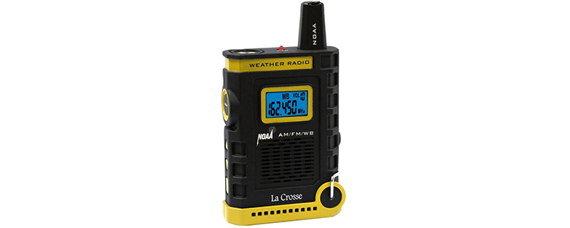 La Crosse 810-805 NOAA AM FM Weather RED Alert Super Sport Radio