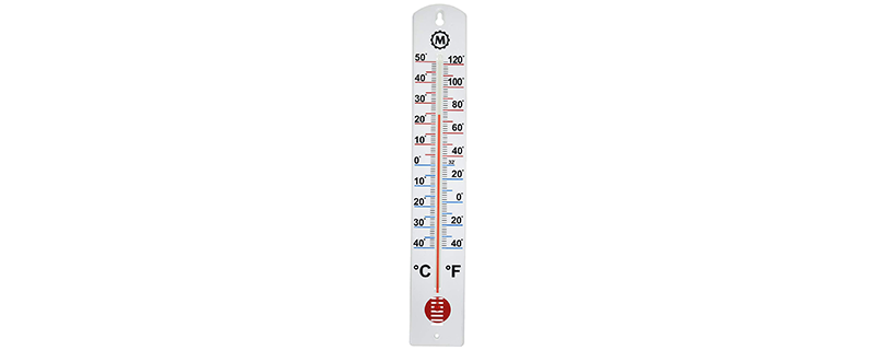 MARATHON BA030001 Vertical Outdoor Thermometer