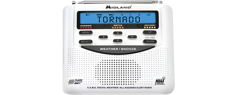Midland - WR120B WR120EZ - NOAA Emergency Weather Alert Radio