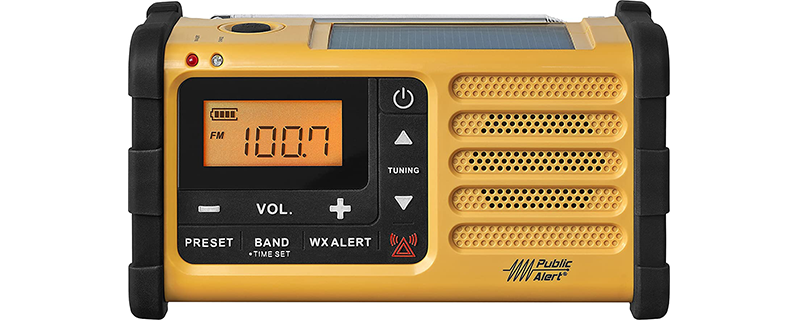 Sangean MMR-88 AM FM Weather Alert Emergency Radio